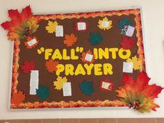 Prayer Bulletin Board!