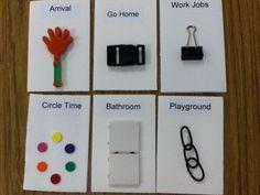 Tangible Symbols that we use at Washington Center