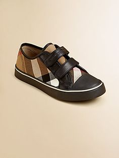 Burberry Toddler's & Kid's Check Low-Top Sneakers