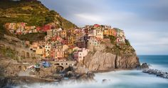 manarola cinque terre italy 64 4k ultra hd wallpaper