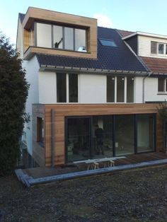 Doppel-Haus Um- und Anbau
