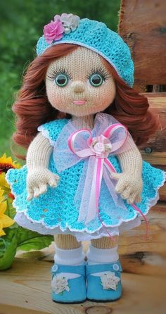 Most popular and beautiful Amigurumi Crochet Pattern Ideas Part amigurumi patterns free; Crochet Dolls Free Patterns, Crochet Doll Pattern, Amigurumi Patterns, Amigurumi Doll, Crochet Fairy, Doll Tutorial, Knitted Dolls, Stuffed Toys Patterns, Handmade Toys