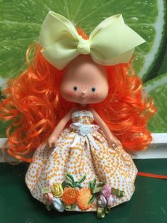 "Strawberry Shortcake Vintage Berrykin Custom ReRoot "" Oranges -n- Cream "" in Dolls & Bears, Dolls, By Brand, Company, Character | eBay"