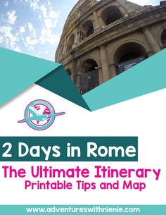 There is so much to see in do in Italy and with Rome as the most popular city to visit, you may only have time to visit Rome in 2 Days. Here is my itinerary and free printable for traveling in Rome in 2 Days.