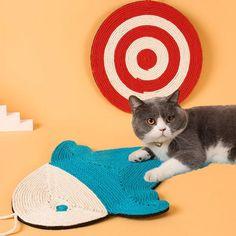 Shark Cat Scratcher Kitten Mat Pet Dogs, Dog Cat, Pets, Cat Tunnel, Cat Scratcher, Pet Furniture, Scratching Post, Pet Mat, Pet Carriers
