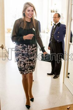 """Queen Máxima opened the symposium """"Tomorrow more music in the classroom"""" at Palace Noordeinde in Den Haag"""