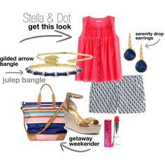 """Stella & Dot summer weekend look"" on Polyvore"