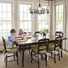 Forget formal dinning rooms!