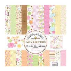 Doodlebug Design - Sugar and Spice Collection - 12 x 12 Paper Pack at Scrapbook.com $15.99