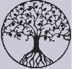 Tree of Life Cross Stitch Pattern  | Craftsy