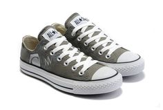 wholesale dealer 4607a 7694d Special New Converse All Star Music Character Print Low Top Grey Canvas Shoes  Zapatos Grises,