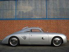 """1955 Porsche 356 """"Silver Bullet"""" outlaw"""