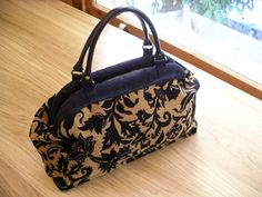 A carpet style bag would make an awesome diaper bag