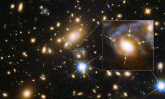 El telescopio espacial fotografía la imagen múltiple de una explosión estelar