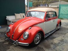 Show Quality 1963 Convertible Vw Bug, Everything Done,      Price:  $ 11,600  Make:#Volkswagen  Model:#Beetle - Classic  Body type:Convertible  Condition:New  Engine:4 - Cyl.  Exterior Color:Orange  Interior Color:White  Fuel type:Gasoline  Location:93001, Ventura, Ca
