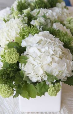 Green And White Wedding Inspiration Flowers And Flower