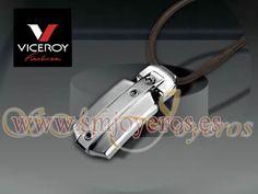 Colgante acero Viceroy Fashion colección Alonso  Cordon marron  REFERENCIA: 5014C01011  Fabricante: Viceroy