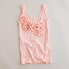 30 MIN JCREW INSPIRED TANK-very cute and good tutorial, but would still take me longer than 30 min.