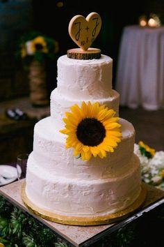 Country Sunflower Wedding - Rustic Wedding Chic