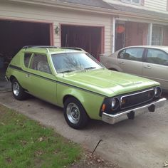 AMCGremlinAppleGreen. ..my 1st car.....
