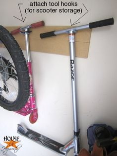 1000 ideas about scooter storage on pinterest tool for Garage scooter nice