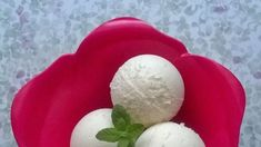 Domowe lody kokosowe Eggs, Breakfast, Food, Morning Coffee, Essen, Egg, Meals, Yemek, Egg As Food