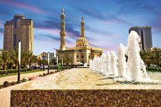 Waterfront in sharjah