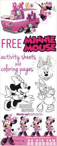 Disney's Minnie Mouse Activity Pages