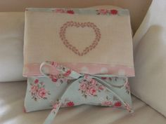 Chart MEDIUM COEUR and tutorial for making fabric envelope - Paper or PDF format