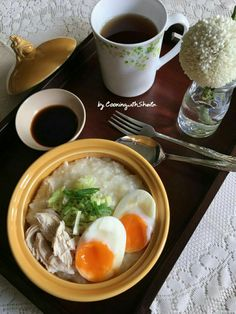 Simple Chicken Congee