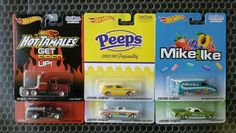 Hot Wheels Pop Culture JUST BORN Set of 6 w/Long Gone, Chevy Astro Van & more!
