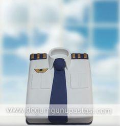 uaçmayı sevenlerin çok beğeneceği özel pilot pastası #pilot #gömlekpasta #pilotpastasi #fly
