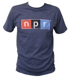 Navy Logo T-Shirt - Wear : NPR Shop