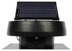 Solar U.S. Sunlight Attic Fan. Professional Series 30 Watt Solar-Powered Roof At - contemporary - ceiling fans - Home Depot