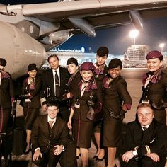 Our Cabin Crew enjoy travelling the world as one big family!