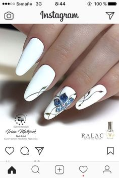 Extend style to your fingertips by using nail art designs. Used by fashion-forward personalities, these nail designs will add instantaneous elegance to your wardrobe. Beautiful Nail Designs, Beautiful Nail Art, Bright Nail Art, Manicure E Pedicure, Flower Nail Art, Nail Swag, Toe Nail Designs, Nagel Gel, Creative Nails