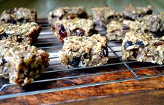 vegan banana granola bars.... adapted from Oh She Glows by LittleFerraro Kitchen, a really great site! I'm going outside to harvest a big bunch of apple bananas from my tree today!