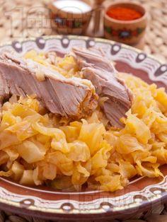 Свинско месо със зеле - снимка на рецептата