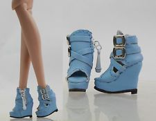 """Fashion Sandals/Shoes/Boots for 12""""Fashion Royalty/Silksone/Barbie doll(-14FS-10"""