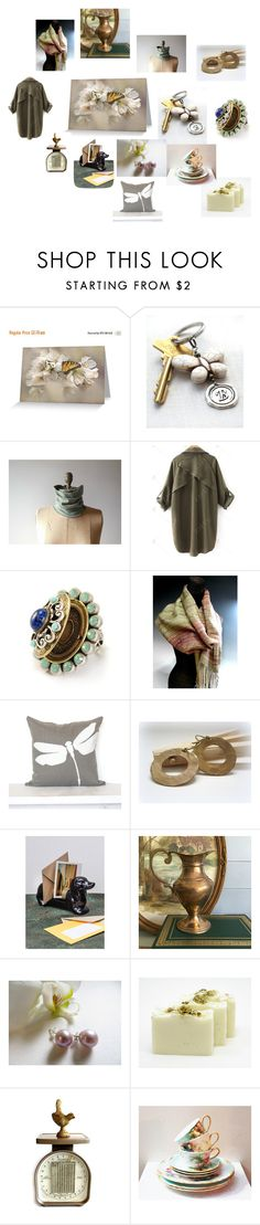"""""""Saturday Morning Paper Trail"""" by inspiredbyten on Polyvore featuring interior, interiors, interior design, home, home decor, interior decorating, LORENZ and etsy"""