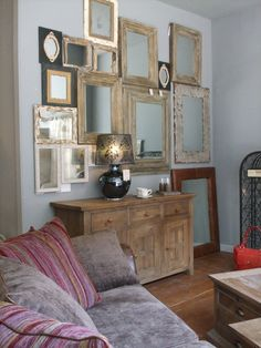 wall of mirrors by design@anniemos.com