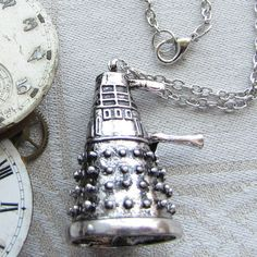 Dr. Who Dalek 1 Necklace 1 per package NEC002 by BriarGateCharms