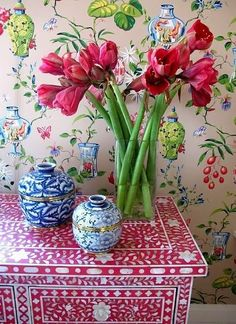 A Blue and White Chinoiserie Christmas