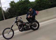 """lost-america: """" death-science: """" jasonhoodrich: """" I dare you to show me a cooler chopper picture. """" Hands down, the raddest photo ever! Dusty is a fucking ruler! Custom Choppers, Custom Bikes, Old School Vans, Big Boyz, Chopper Bike, Cool Motorcycles, Biker Style, Harley Davidson Motorcycles, Cool Cars"""