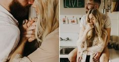 In Home Session // Mattie+Peter // An intimate photo session at their Portland, Oregon apartment. A slow morning with coffee and cuddles. Couple Portraits, Couple Posing, Couple Shoot, Couple Boudoir, Lifestyle Photography, Couple Photography, Photography Poses, Couple Goals, Intimate Photos
