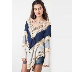 Blouses & Shirts Original Women Pullover Square V-neck Swimsuit Cover Up Bohemian Rainbow Large Sunflower Printed Chiffon Cape Shawl Oversized Loose Kimon
