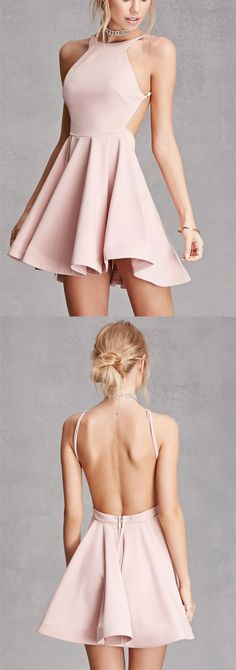 homecoming dress,2017 short homecoming dress, short pink homecoming dress prom dress