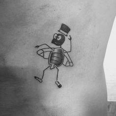 Barfly tattoo