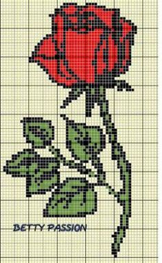 rose de Betty Passion