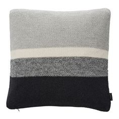 Pearl cushion 50x50 cm - grey-black-white - OYOY